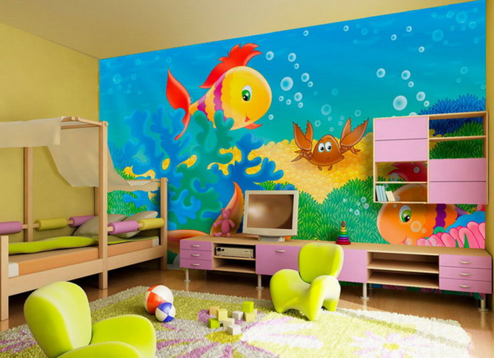 Kids Room Painting Ideas Paint Form Learning Home Furniture
