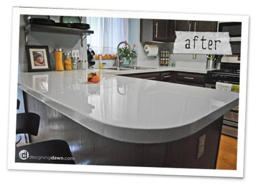Kitchen Counter Paint