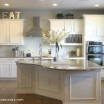Kitchen Makeover Island Molding Because Like