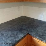 Kitchen Makeover Series Part Faux Granite Countertops Exercise