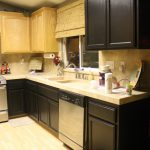 Kitchen Paint Colors Dark Cabinets Combination Incredible