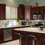 Kitchen Paint Colors Dark Cherry Cabinets Smart