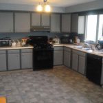Kitchen Paint Colors White Cabinets Black Appliances