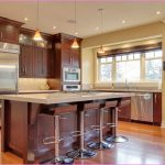 Kitchen Wall Color Ideas Dark Cabinets