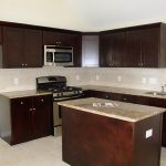 Kitchen Wall Colors Dark Brown Cabinets Home Design