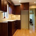 Kitchen Wall Colors Dark Cabinets Color