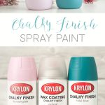 Krylon Chalk Finish Paint