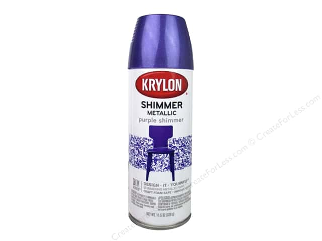 Krylon Shimmer Metallic Spray Paint Purple