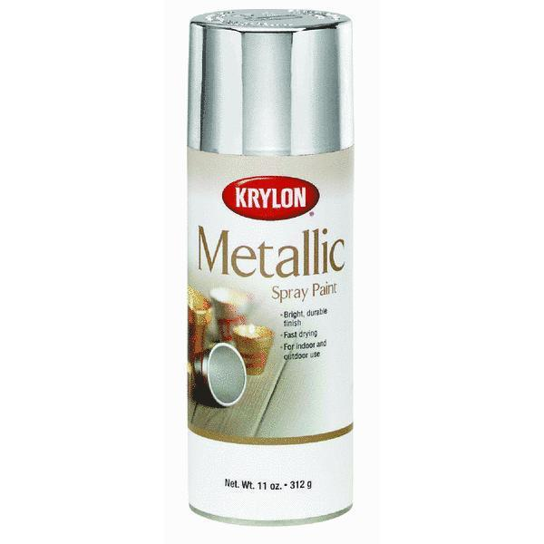 Krylon Silver Metallic Spray Paint