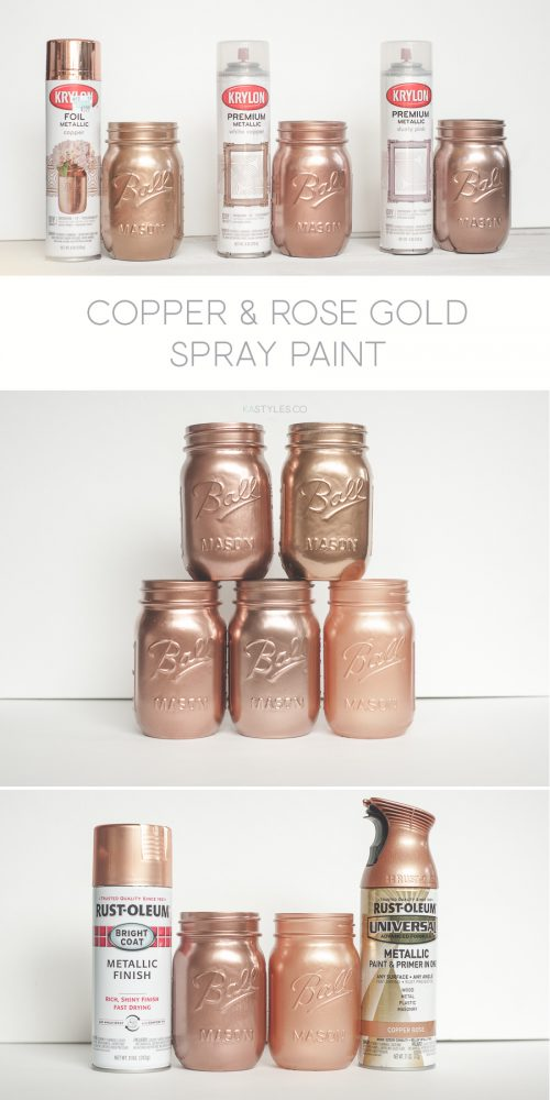 Krylon White Copper Dusty Pink Foil Metallic Rust Oleum Too