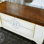 Lake Girl Paints Generations Cedar Chest Painted