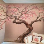 Latest Painted Trees Wall Art