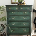 Layering Chalk Paint Green Painted Furniture