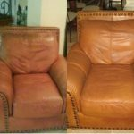 Leather Chair Dye Paint Work