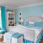 Light Blue Paint Bedroom Real