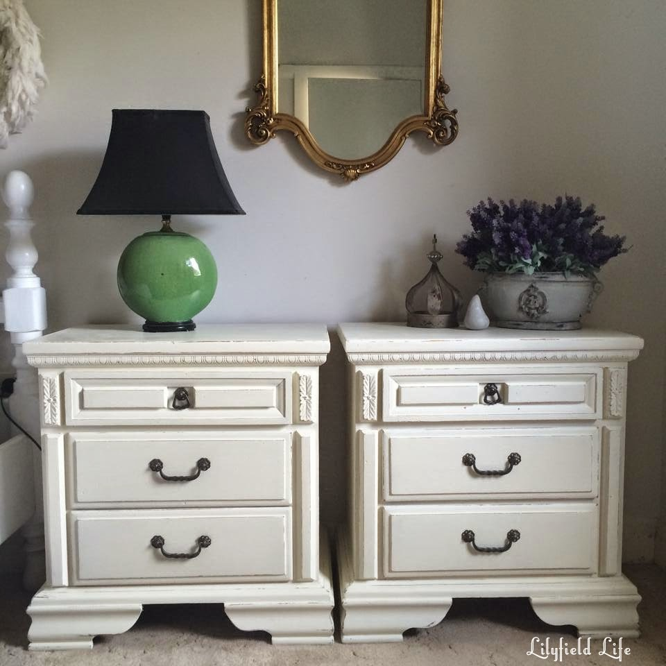 Lilyfield Life White Painted Furniture Before After