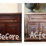 Liming Wax Over Dark Stain Furniture