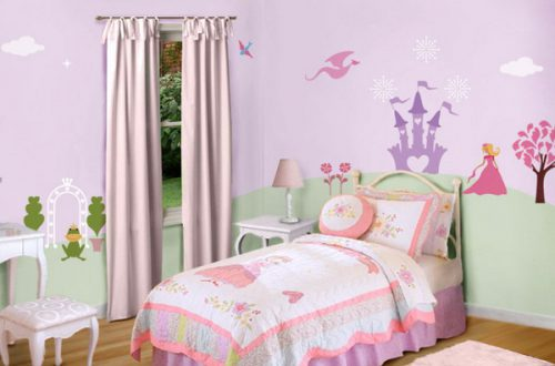 Little Girls Bedroom Paint