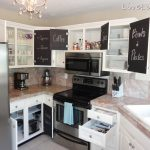 Livelovediy Chalkboard Paint Kitchen Cabinet