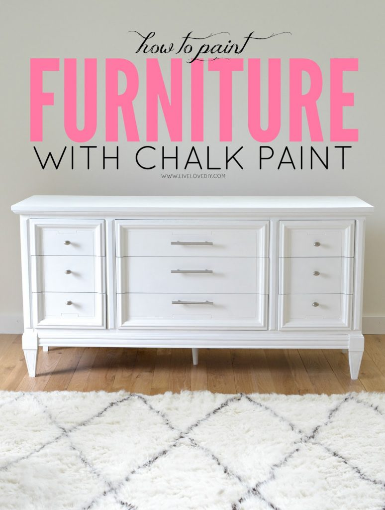 Livelovediy Paint Furniture Chalk Survive Diy