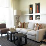Living Room Ideas Small Space Layout Gray Wall