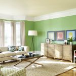 Living Room Remodelling Home Design Wih Cool Ideas Green Wall Paint
