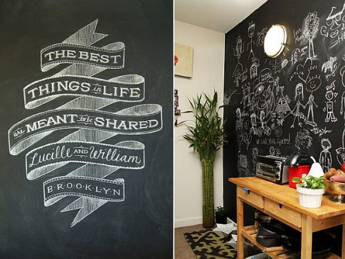 Living Space Chalkboard Wall Paint