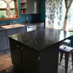 Look Granite Counter Tops Achieved Using Paint Epic