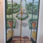 Look Hand Painted Doors Here House Fred Gonsowski Garden