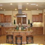 Looking Tan Paint Colors Honey Oak Distressed White Kitchen
