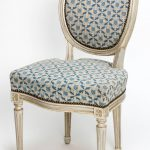 Louis Xvi Style Painted Dining Chairs Set Four Sale