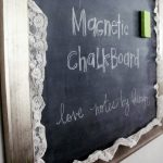 Love Notes Lauryn Magnetic Chalkboard Tutorial