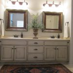 Love These Painted Bathroom Cabinets Lights Would Like Paint