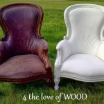 Love Wood Annie Sloan Painted Leather