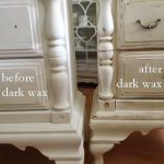 Love Wood Using Dark Wax White Paint Video Painting Furniture