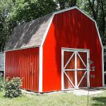 Lovely Barn Red Paint Color Building Small Pole Barns