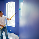 Lovely Best Deck Paint Consumer Reports Man Painting Wall