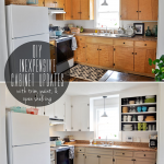 Low Cost Diy Ways Give Your Kitchen Cabinets