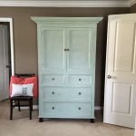 Lowcountry Lady Armoire Painted Annie Sloan Chalk Paint Duck Egg Blue Old