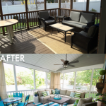 Lowe Screen Porch Deck Makeover