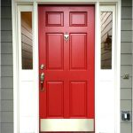 Lowes Exterior Paint Cranberry Color Ideas Current Always Wanted Red Front