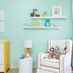 Magical Flair Gives Your Living Room Wall Color Mint Green Fresh Design