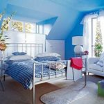 Magnificent Teenage Girls Bedroom Interior Design Ideas Light Blue Color Scheme