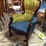 Maison Decor Paint Velvet Chairs Chalk Annie