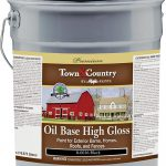 Majic Town Country Oil Based Exterior Paint Gal Pail