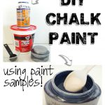 Make Diy Chalk Paint Using Store Samples