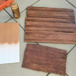Make Fake Wood Grain Effect Manning Makes