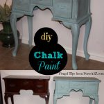 Make Homemade Chalk Paint Diy Arts