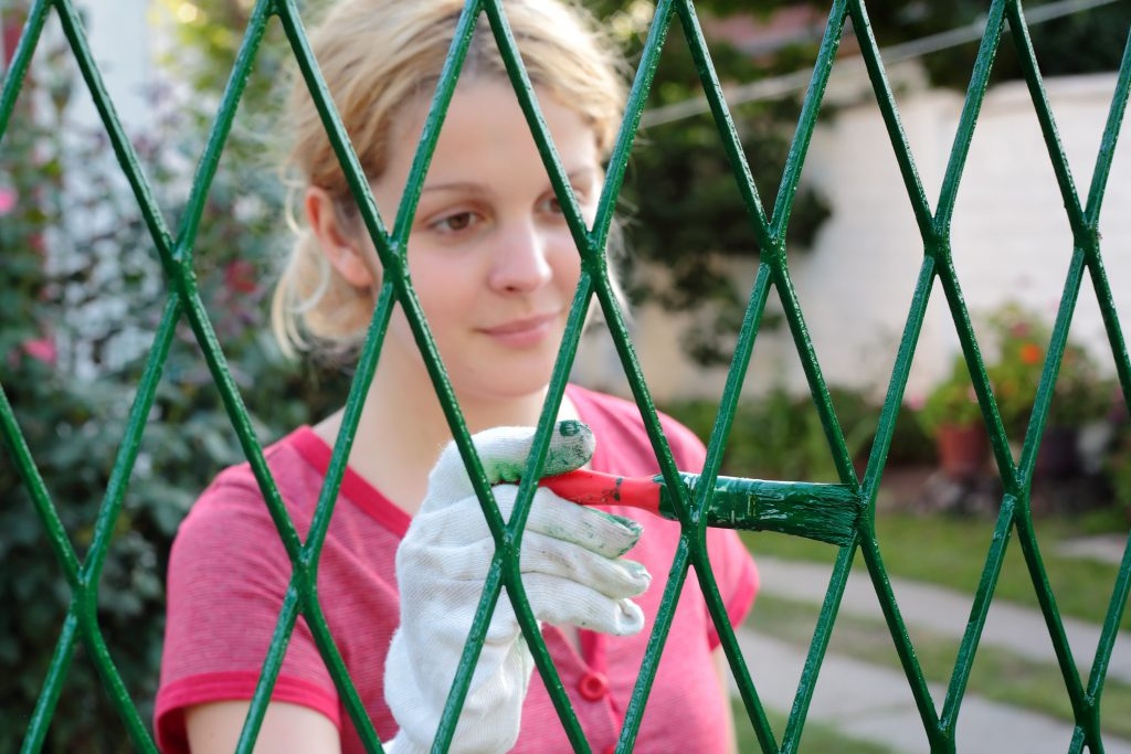 Make Your Chain Link Fence Look