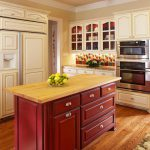 Make Your Kitchen Island Stand Out Paint Stain Cabinet